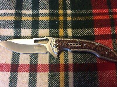 CRKT COLUMBIA RIVER KNIFE TOOLS 5470 IKOMA FOSSIL LOCKBACK
