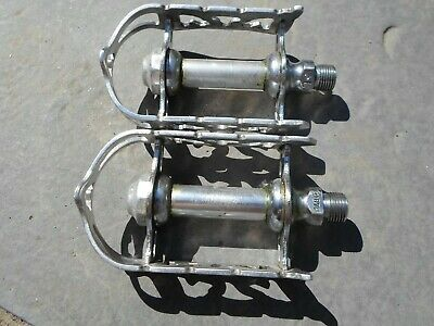 KKT RT E Pedal Pedals Chrome Steel Japan Used.