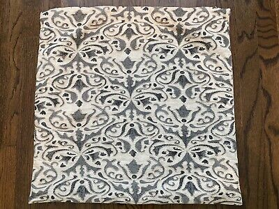 Pottery Barn Pillow Cover - Grey & Off White 20""