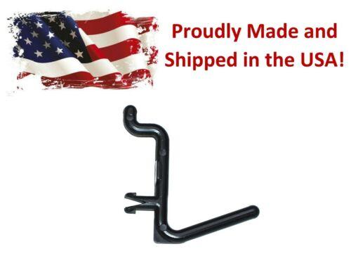 Plastic Black L Style Pegboard Hook Kit / Tool, Storage, Craft Hooks-Pick a Pack
