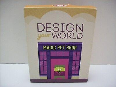 Design Your World Magic Pet Shop Wendy's Kids Meal Toy- NEW/Sealed  - Kids Shop Design