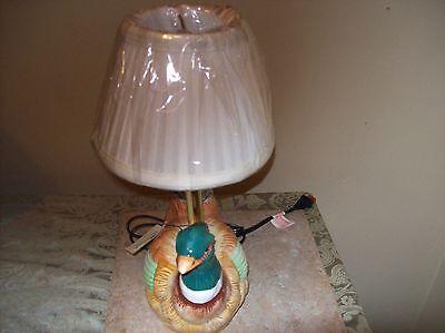 Pheasant Lamp  Very Colorful