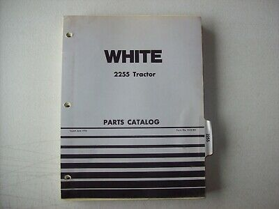 Original White 2255 Tractor Parts Catalog Manual 1976