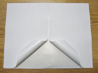 500 Shipping Labels Half-sheet Self Adhesive Printer Paper Usps Ebay 8.5 X 5.5