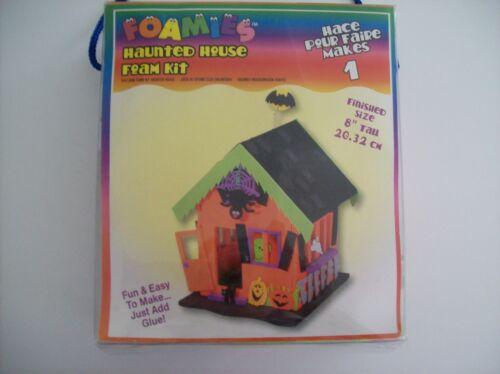 Foamies 3D Foam Kit Haunted House Halloween Craft for Kids Arts & Crafts