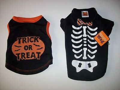 Pet Spirit Simply Wag Dog Halloween Costumes Trick or Treat Skeleton NWT NWOT - Simply Halloween Costumes