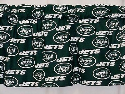 New York Jets NFL Football Valance Curtain Choose:40