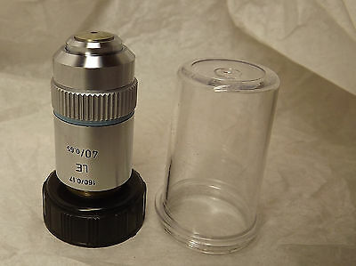 Leitz Microscope Objective Lens Le Improved Field Flatness 40x0.65