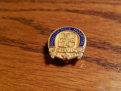 Providence Hospital 5 Year Service Pin