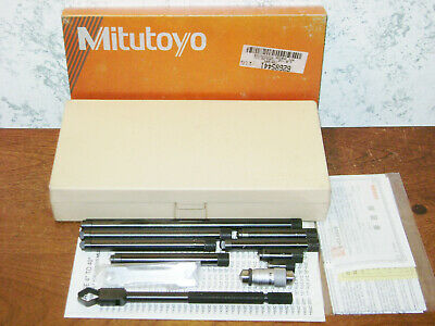Mitutoyo Tubular Inside Micrometer Set No 139-201 - 1 12-12 Inches - Lot2