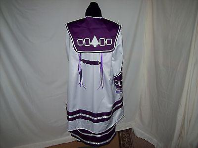 Native Amer. Indian 8 pc.Hiawatha Treaty Belt Design Ladies Regalia/Outfit 2X
