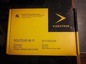 Routeur / Router Vidéotron WIFI EMG2629 NEUF / NEW
