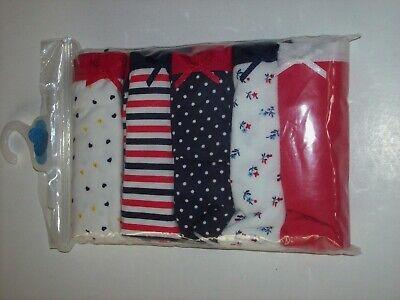 Joe Boxer Underwear Underpants 5 Pack Girls Hipsters S M L XL Heart Stripes