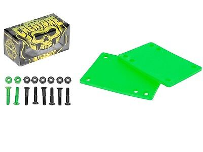 "Independent Creature 1"" Skateboard Mounting Hardware + Cal 7 1/8"" Riser Pad"