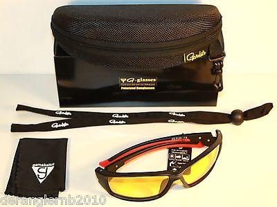 Gamakatsu G-glasses Racer Amber Polarisationsbrille Polbrille Race NEW OVP