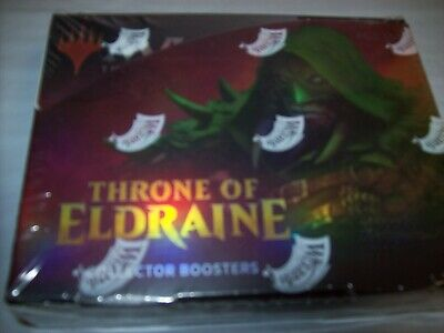x12 Throne of Eldraine Collectors Edition Sealed Booster Box 12 Packs MTG Sealed