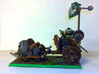 Warhammer Orcs And Goblins ,orcs Chariot Pro Painted, -  - ebay.it