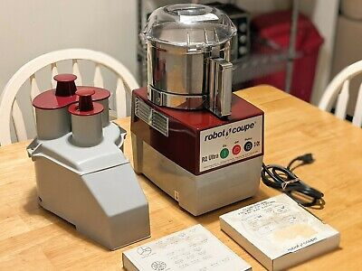 Robot Coupe R2 Ultra Food Processor New Wo Box