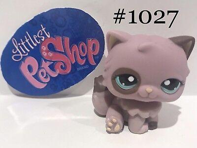 Authentic Littlest Pet Shop - Hasbro LPS - PERSIAN CAT #1027