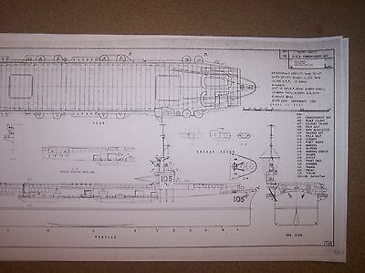 USS COMMENCEMENT BAY  ship boat model boat plans