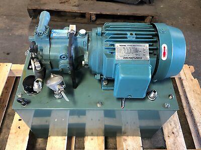 Daikin Nd151y-403-40 Oil Hydraulic Unit Piston Pump V15a1ry-95 Toshiba Motor