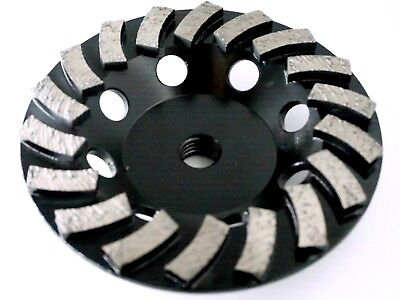 - 5in Diamond cup wheel - 18 segmented for Fast Grinding , Coarse, 5/8-11T