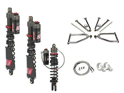 LSR Lone Star Sportl A-Arms Elka Stage 5 Front Rear Shocks Yamaha YFZ450R