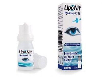 Lipo Nit LipoNit Augentropfen GEL im Mehrdosenbehältnis mit 0,3 % Hyaluronsäure