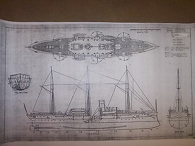 PG1 YORKTOWN  boat model ship plan