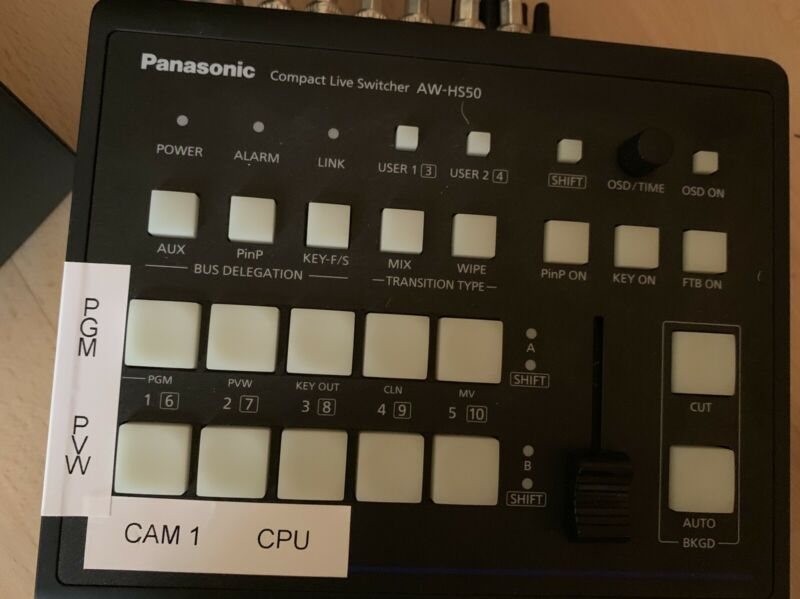 Panasonic Hs50 Switcher