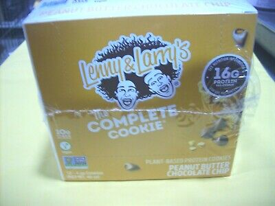 12 Lenny & Larry's The Complete Cookie Peanut Butter Choc Chip Best by: Aug