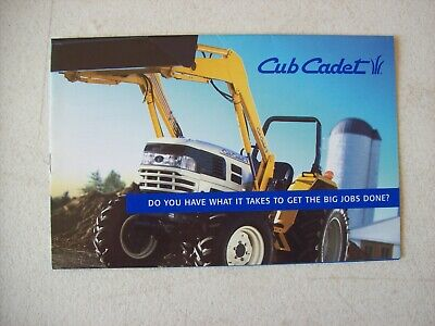 Cub Cadet Compact Tractors Brochure 2004