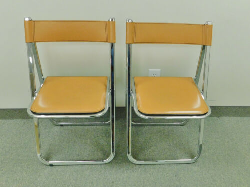 Pair of Tamara Folding Chairs by Arrben