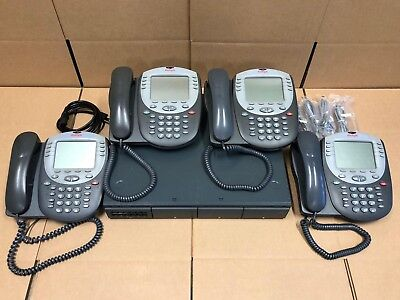 Avaya Ip Office 500 V2 8.1 4 Line Business Phone System Essential Voicemail 5420