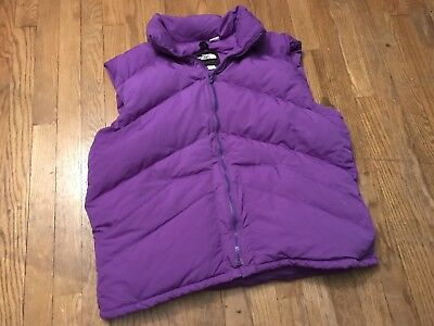 Vintage The North Face Extreme Winter Purple Puffer Vest  The North Face Winter Vest