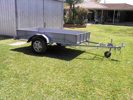 9' x 5' ALL STEEL TRAILER WITH REMOVABLE SIDES Burpengary Caboolture Area Preview
