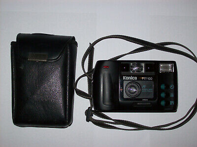 KONICA MT-100 POINT AND SHOOT FILM FUNCTIONAL CAMERA WITH STANDARD LENS