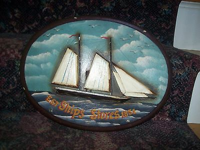 Old Ship Store Sign Est. Ships Stores 1851 ](Nautical Decor Store)