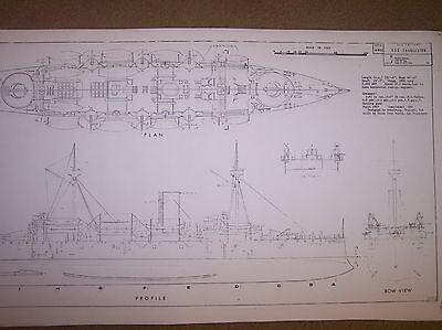 USS CHARLESTON ship boat model boat plan