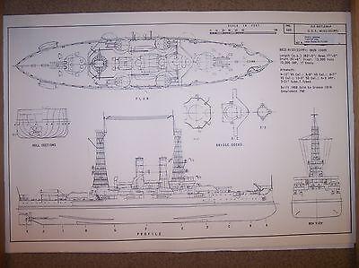 BB23 uss mississippi ship plans