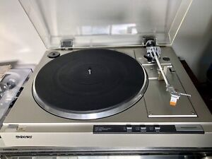 Sony fully automatic direct drive turntable