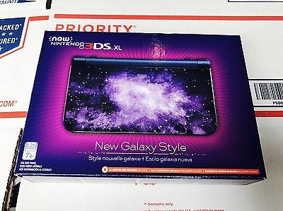 Brand New NINTENDO 3DS XL Galaxy Style Console - USA Retail Model