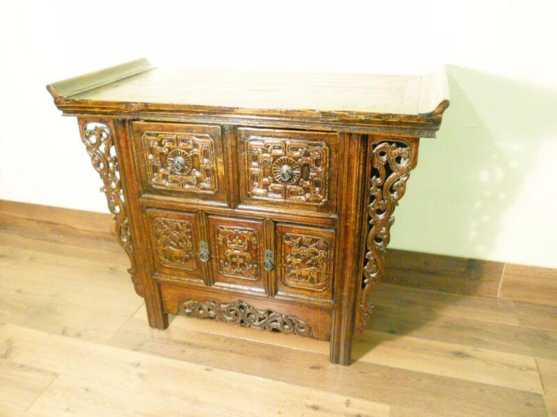 Antique Chinese Altar Cabinet (5720), Circa 1800-1849