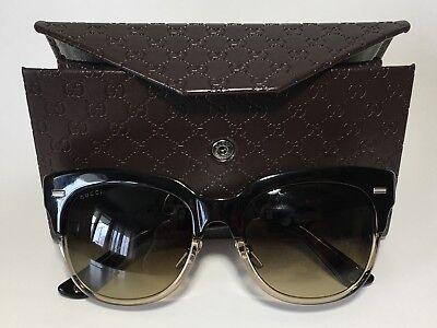 11387d5772e6 Gucci Bio Based Woman Sunglasses With Case New