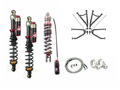 LSR Lone Star DC-4 Long Travel A-Arms Elka Stage 4 Front Rear Shocks Kit KFX450R
