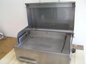 BBQ SOVEREIGN BUSHMAN RV EXPLORER Stainless steel Daylesford Hepburn Area Preview
