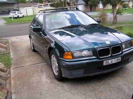 1994 BMW E36 320i SEDAN ONE YEAR REGO Greenfield Park Fairfield Area Preview