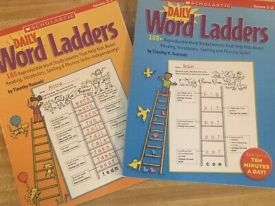 Daily Word Ladders Grades 1-2 And Grades 2-3 By Timothy -