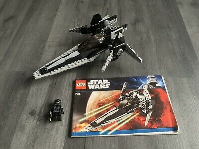 🌈LEGO Star Wars 7915 Imperial V-Wing Starfighter Ship Imperial Pilot Minifigure
