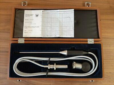 Bruel Kjaer Type 4170 Mic Set. Probe Microphone.